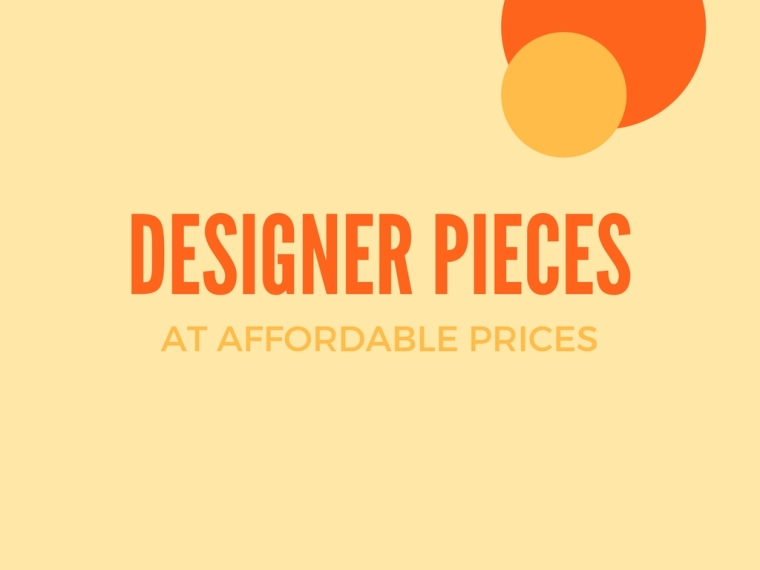 Common Sort | Affordable Designer Pieces